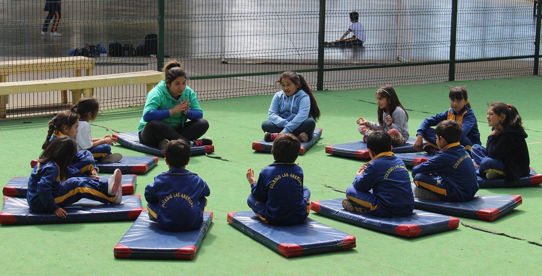 Yoga Para niños - Colegio Las Américas Quilpué