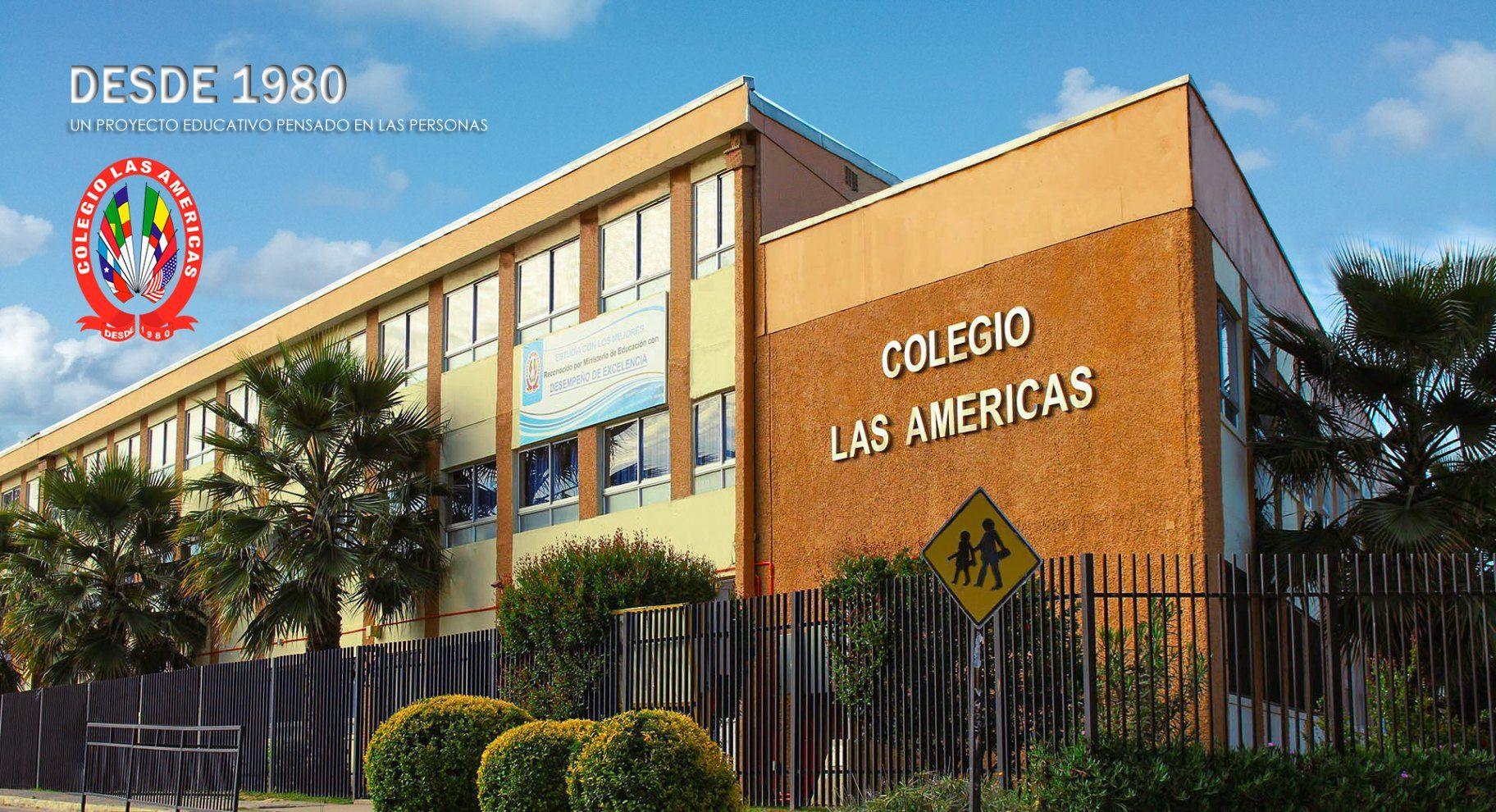 Frontis Principal Colegio Las Américas